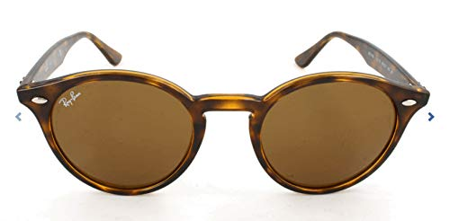 Ray-Ban RB 2180 Montature, 710/73 Havana/Brown, 49 Unisex