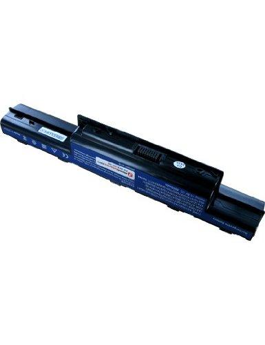 Batterie pour ACER TRAVELMATE 5742-372G25Mn, Haute capacité, 10.8V, 6600mAh, Li-ion
