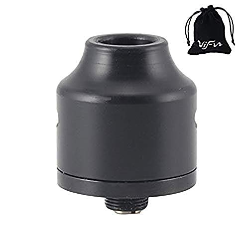 OUMIER WASP NANO RDA Atomizador Pasador de flujo de aire ajustable para Squonk Style MOD No Nicotine, No E Liquid (Black)