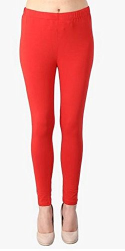 City Fashion Women's Cotton Leggings (City Fashion_2W_Red_XX-Large)
