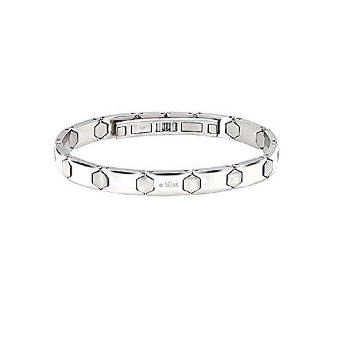 Bracciale in acciaio con diamante Bliss Meccano 20057522