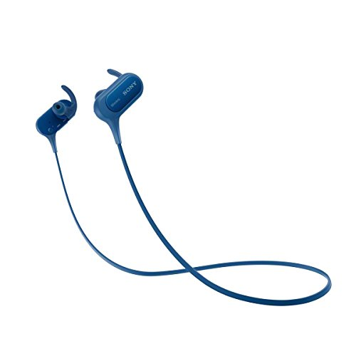 Sony MDRXB50BSL.CE7 - Auriculares Deportivos in-Ear Bluetooth (Extra Bass, NFC, LDAC, Manos Libres para Apple iPhone y Android, autonomía de 8,5 h), Color Azul