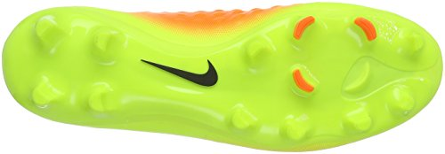 Nike Magista Onda Ii Fg, Scarpe da Calcio Uomo Giallo (Volt/black/total Orange/clr Jd)