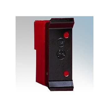wylex r30 rewireable fuse, carrier and base - 30amp (red)