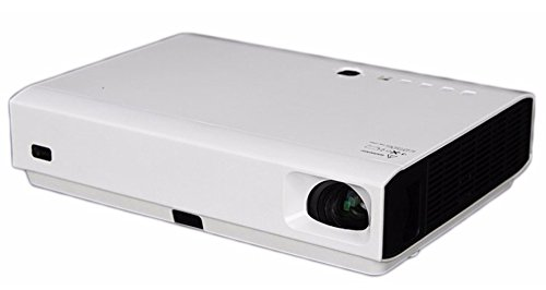 Play Portable Digital 4K DLP 3840x2160p/7100 Lumens Video Projector (White)