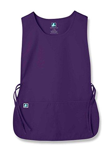 Adar Uniforms Unisex Arbeitsschürze mit Taschen für Schönheit und medizinische Berufe 702 Color PRP | Talla: Regular
