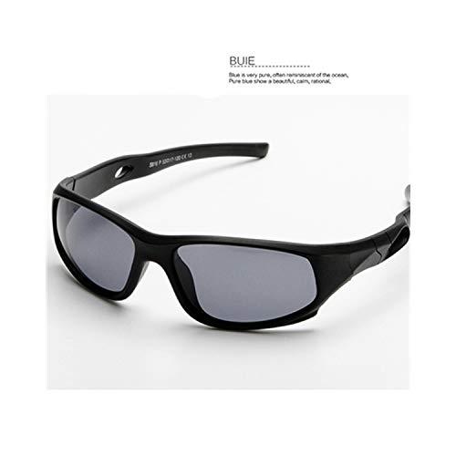 Vikimen Sportbrillen, Angeln Golfbrille,Cute Baby Polarisiert Sunglasses Kids Child Girls Boys Sport Goggles TR90 Polaroid Sun Glasses Shades Infant Oculos S816 Gray