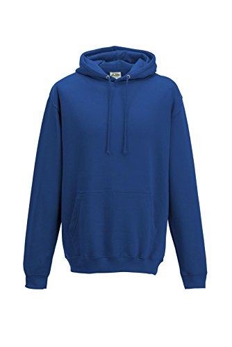 Just Hoods College - Felpa Blue - Navy Blue