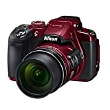 #6: Nikon Coolpix B700 Digital Camera (Red) with 16GB Memory Card, Camera Case and HDMI Cable (Red)