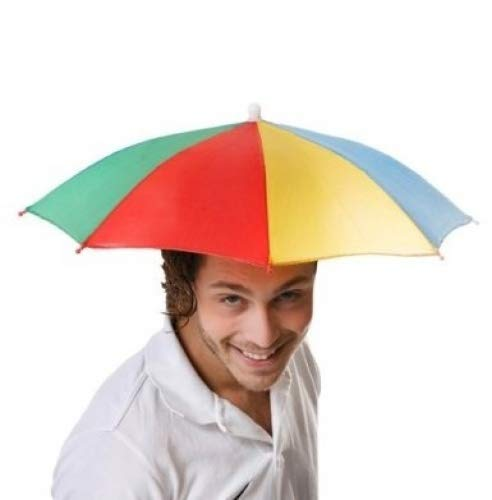 Toyland Multi Colour 1 Größe Umbrella Hat - Festivals - Angeln - ()