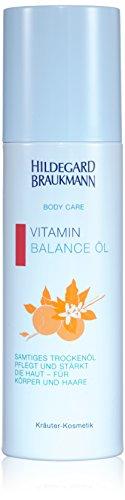 Feuchtigkeitsspendende öl Körper (Hildegard Braukmann Body Care femme/women, Vitamin Balance Öl, 1er Pack (1 x 200 ml))