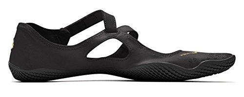Vibram FiveFingers en V Soul Women + chaussette orteils–Set–Chaussures à orteils de loisirs, pour le fitness femme/bar Chaussures pieds avec chaussettes orteils noir