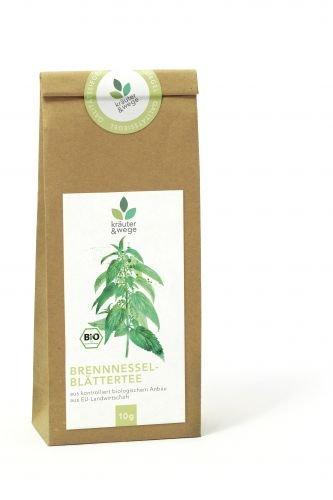 kräuter & wege ® | Bio Brennnesselblätter Brennnessel Brennessel Tee 10g | Getrocknete Premium Qualität | Abgefüllt in Deutschland