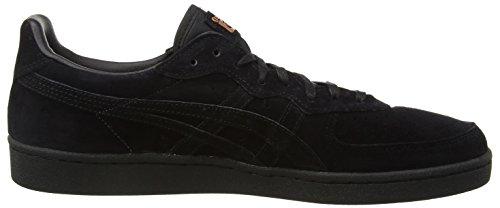 Asics  Gsm, Sneakers Basses Unisexe adulte Noir - Black (Black/Black 9090)