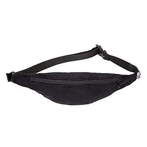 Bauchtasche schmal, Cord fein schwarz, Hipbag, Umhängetasche, fanny pack, Hüfttasche