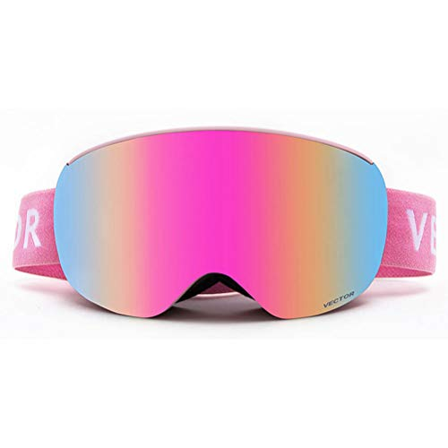 Skijakkeset Kinder Skibrille Outdoor Skifahren Anti-Fog Augenschutz Doppelschicht Brillenglas Wintersport Snowboardbrille