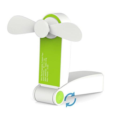 Ventilador de Mano, Greenic Mini Ventilador Personal Portátil