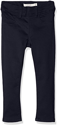 NAME IT Baby-Mädchen NITTINNA Skinny TWI Legging F Mini NOOS Jeans, Blau (Sky Captain), 86