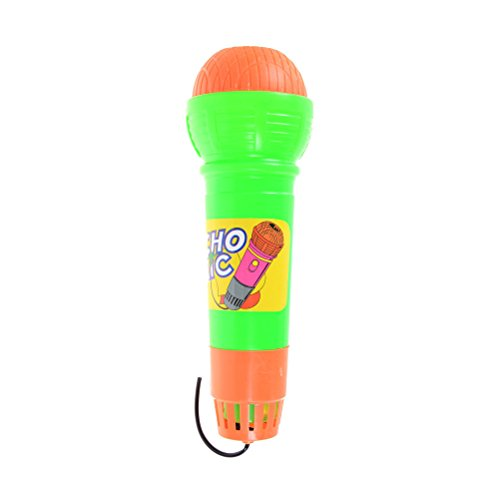 SLB Works Microphone Music Echo Toy for Children Modern Mic Voice Changer HICA