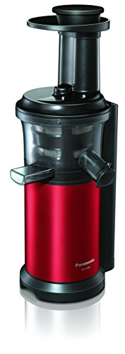 Panasonic MJ-L500RXE Extracteur Lent de Jus Rouge