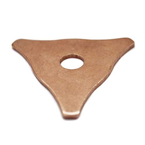 Klinkamz 50 pcs Triangulaire de Voiture Spot Soudeur Soudure Panneau dent Tirer kit Rondelle de Bague de réparation