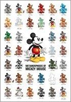 1000 piece Metamorphosis of Mickey Mouse DM-1000-300 (japan import)