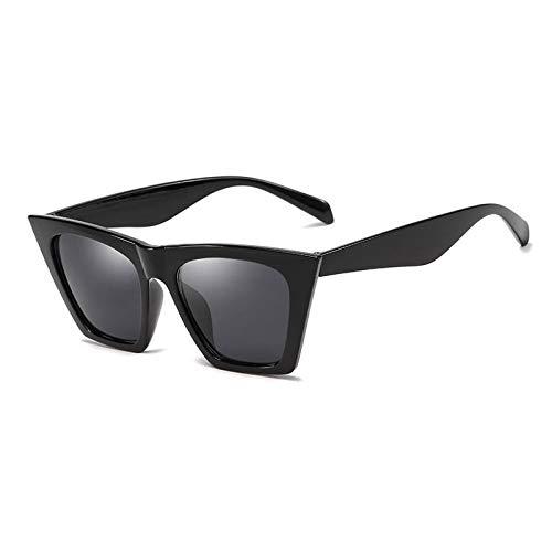 SUNNYBQM Sonnenbrillen Quadratische Sonnenbrille-Frauen-Sonnenbrille-Schatten Für Frauen-Sonnenbrille-Damen-Retro Sunglases