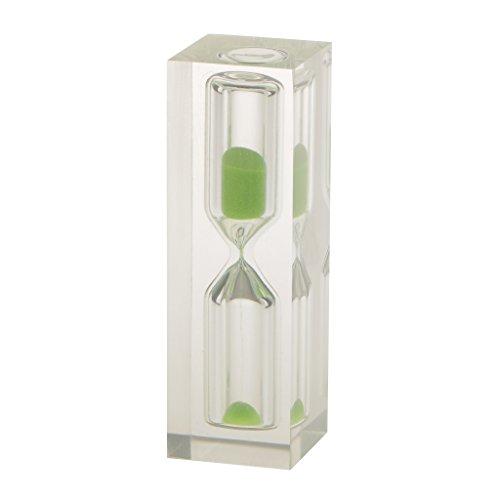 3 Minuten Sandglass Sanduhr Teeuhr Zahnuhr Sand Uhr Timer Dekoration Kindergeschenk - Grün