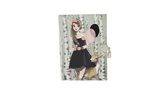 Avenue Mandarine 62310O - Tagebuch MM Rebecca in the w, 12.5 x 18 cm