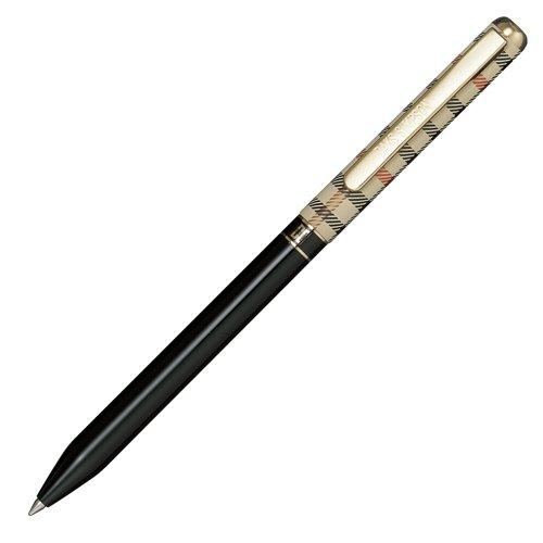 daks-house-check-color-2-color-black-ball-point-pen-japan-import