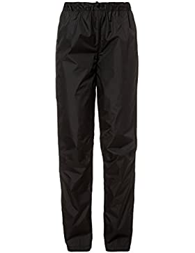 VAUDE Women'S Fluid Pantalones, Mujer, Negro, M