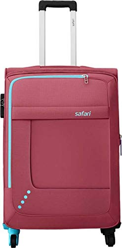SAFARI Star 65 4W RED Expandable Check in Luggage