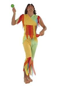 César - Disfraz de hippie para hombre, talla 48 (E856-001)