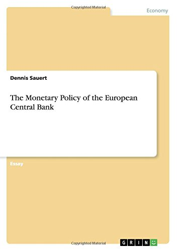 the-monetary-policy-of-the-european-central-bank