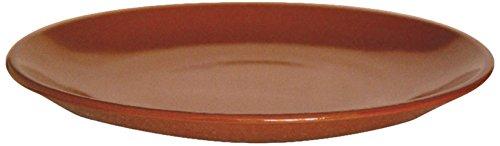 Garcia de Pou 12Unidad vajilla Plato en Caja, cerámica, marrón Rojizo, 20x 30x 2,3cm, cerámica, Reddish Brown, 23 x 30 x 2.7 cm
