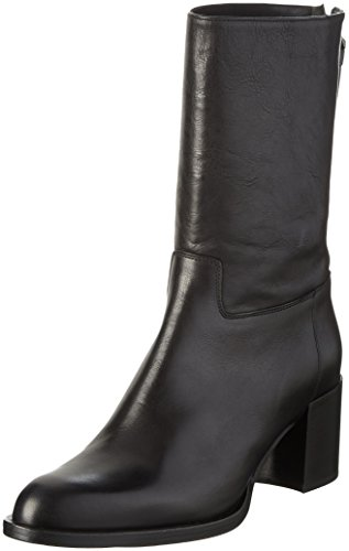 Strenesse Boot Leon, Bottes mi-hauteur non doublées femme Noir - Noir (990)