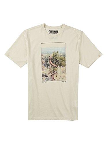 Burton Harvest Short Sleeves maglietta, Uomo, HARVEST SHORT SLEEVES, Vintage bianco, XL Vintage bianco