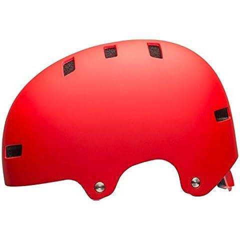 Bell sábana Skater Casco & bicicleta casco de Matte Red, S 51-55cm