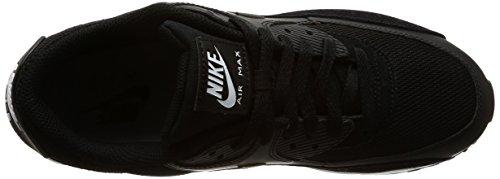 Nike Air Max 90 Essential, Baskets mode homme Noir (Black/black/white)