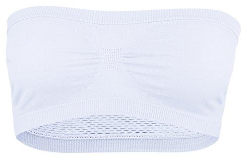 la-vogue-bandeau-top-soutien-gorge-debardeur-femme-tube-extensible-sans-couture-blanc