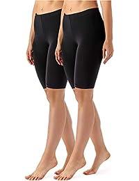 Merry Style Lote de 2 Leggins Cortos Mallas Deportivas Mujer MS10-145