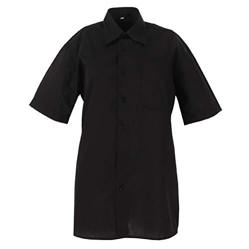 MISEMIYA Hombre Cuello Mao Camisa Basica Uniformes