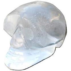 Reiki Healing Energy Charged Raw - Miniatura de cuarzo transparente, 2 cm (muy bien envuelto para regalo)