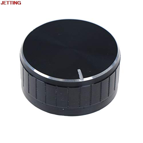 Switches - 1 Pcs Durable Volume Control Rotary Knobs Knurled Shaft Potentiometer 40 17mm - Potentiometer Degree Extra B10k Door Engine Stem Cb400 12ax7 Switch Cbr400 2008 Aluminium Rotary