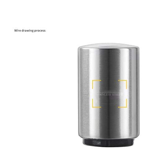 ZJ-SUMBRELLA Edelstahl Bier Persönlichkeit Kreative Flaschenöffner Pressentyp Automatischer Flaschenstarter, Straight Body Opener [Edelstahl], 304 Edelstahl Flaschenöffner