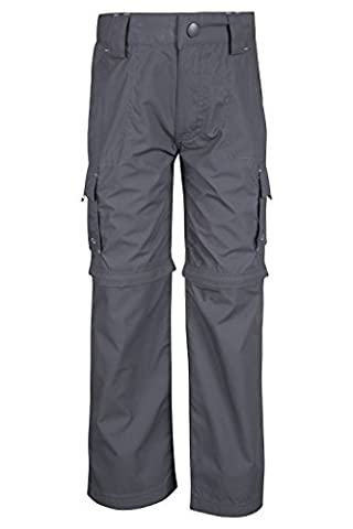 Mountain Warehouse Active Zip-off-Hose für Kinder Dunkelgrau 164