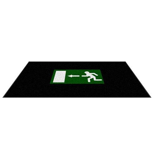 Andersen 2120547 Nylon Faser Innenraum Bodenmatte, Classic Impressions, Sicherheitslogomatte, Nitrilgummirücken, 830 g/M2, Querformat, 85 cm x 150 cm