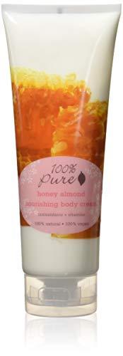 100% Pure Honey Almond Nourishing Body Cream 8 oz by 100% Pure (English Manual)