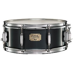 pearl-exx1455sc-31-export-jet-black-14x55-snare-drums-metal-snares