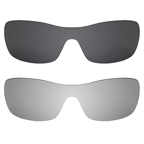 Revant Ersatzlinsen für Oakley Antix Polarisiert 2 Paar Kombipack K001